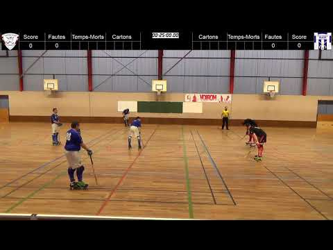 Rink-Hockey Nationale 3 - 2018/2019 - HC Voiron 2 / RH Gleizé 1