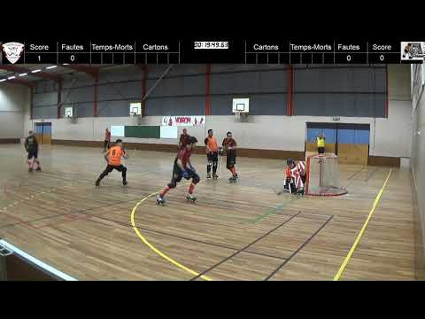 Rink-Hockey Nationale 3 - 2018/2019 - HC Voiron 1 / ROC Vaulx-En-Velin 1